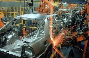 Wkrętarki elektryczne Sumake - fabryka samochodów