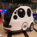 AirPod samochód napędzany sprężonym powietrzem firmy MDI