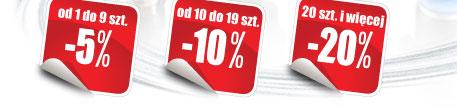 Rabaty od 5% do 20%