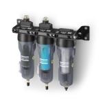 Zespół filtracji powietrza złożony z filtrów Atlas Copco