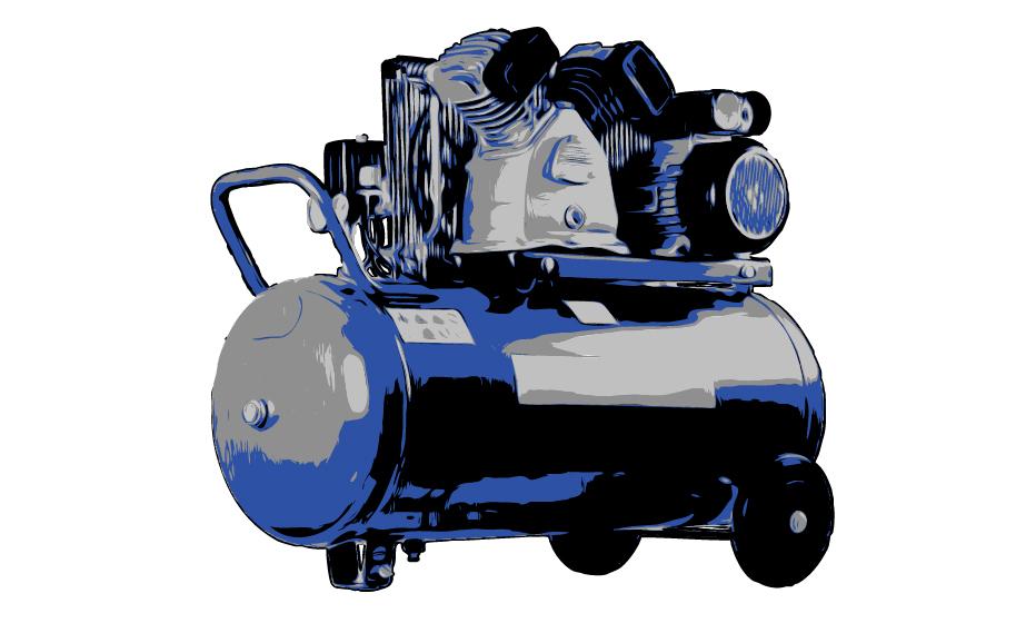 Silniki z magnesami stałymi -Zalety Sprężarki