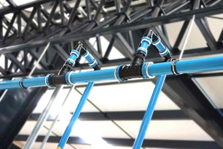 sprawdzić szczelność instalacji pneumatycznej