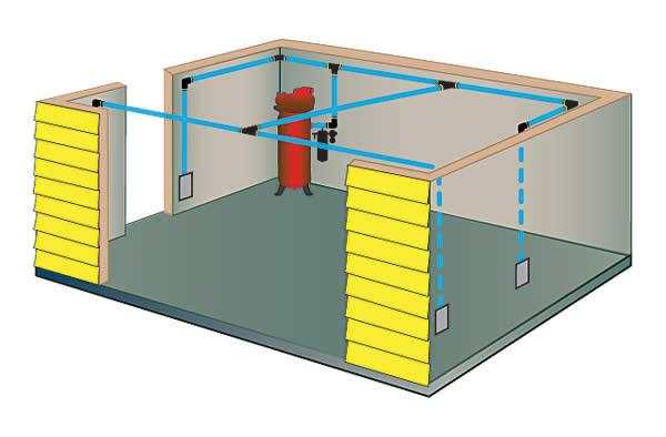 instalacja pneumatyczne w warsztacie